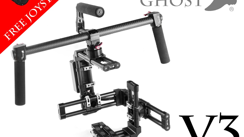 Ghost Gimbals V3 Camera Stabilizer for Handheld or Drone project video thumbnail