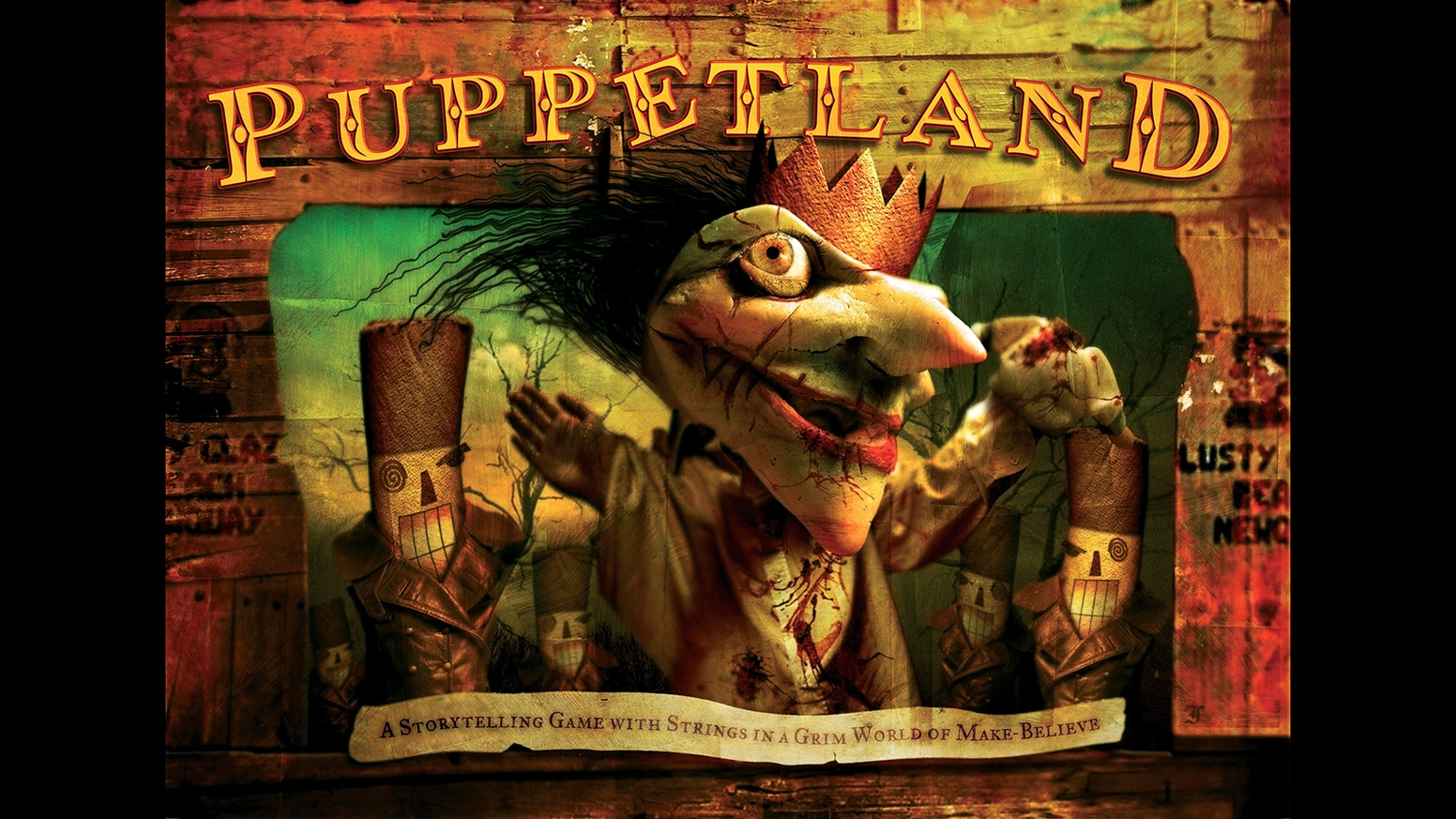 The groundbreaking story game of puppets and horror returns in a beautiful, expanded hardback edition.