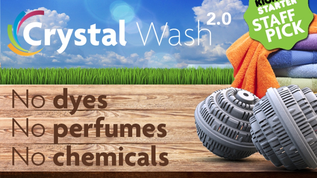 Crystal Wash 2.0: Clean Laundry with No Detergents project video thumbnail