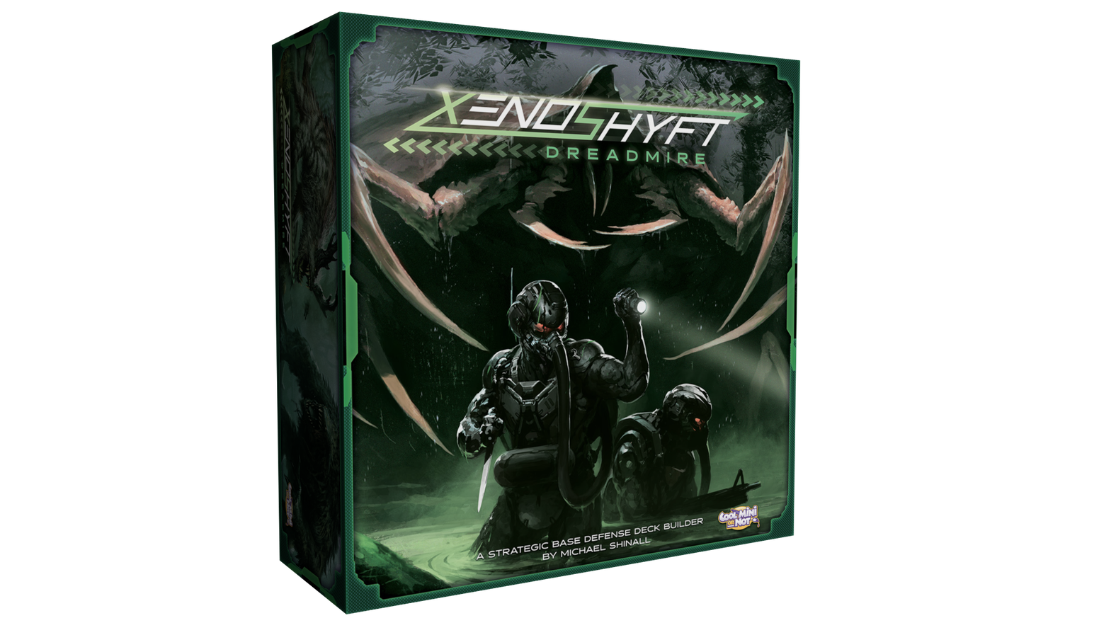 Partner up with your friends to survive wave after wave of horrific aliens in this cooperative deck-building base-defense game!