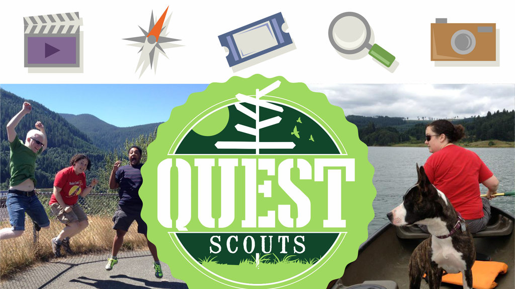 Quest Scouts- Help Us Blast Off & Print Our Badge Books! project video thumbnail