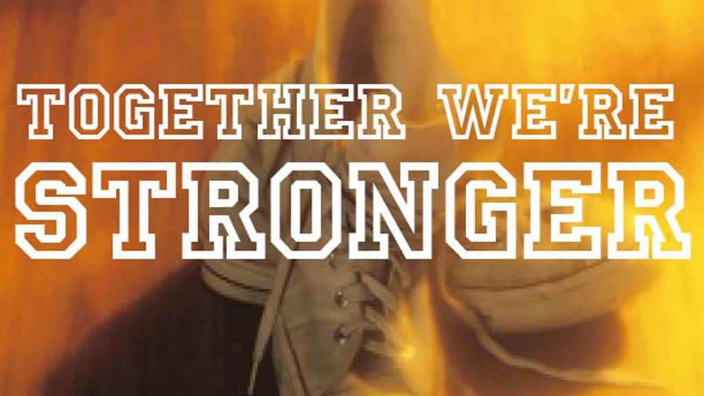 TOGETHER WE'RE STRONGER: a documentary film project video thumbnail