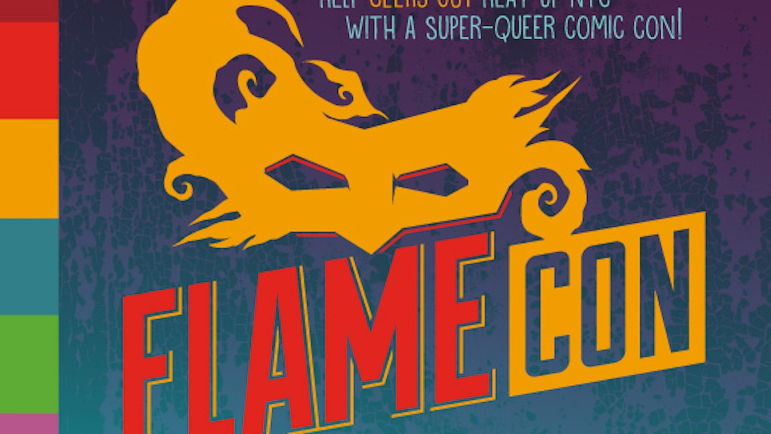 Help Geeks OUT heat up NYC with a super-queer comic con!