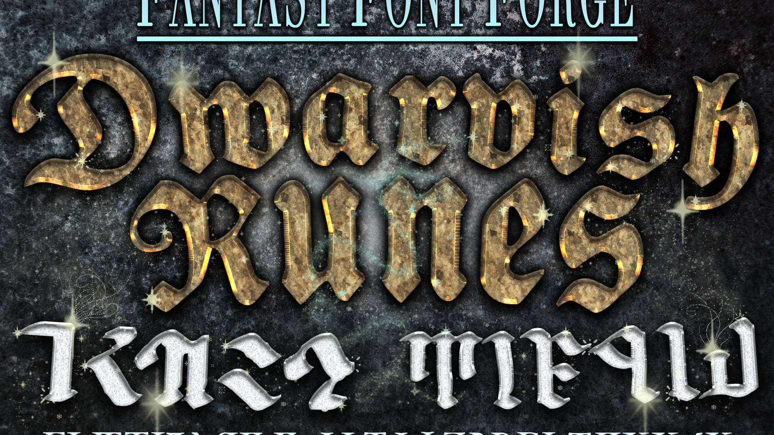 Fantasy Font Forge: Dwarvish Runes by Infinity Plus One — Kickstarter