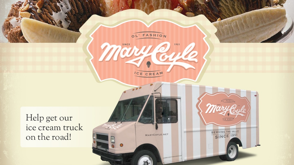 Project image for Mary Coyle Ice Cream Food Truck