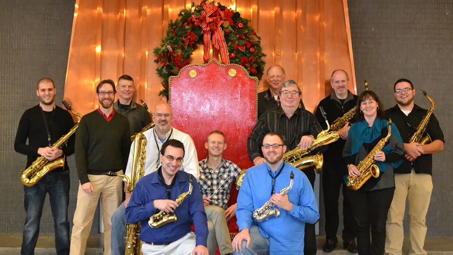 Hudson Valley Saxophone Orchestra Christmas CD by Hudson Valley ...