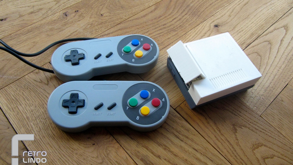 Retro Lindo: all-in-one console project video thumbnail