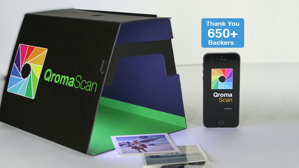 QromaScan: A New, Smarter Way to Scan Photos project video thumbnail