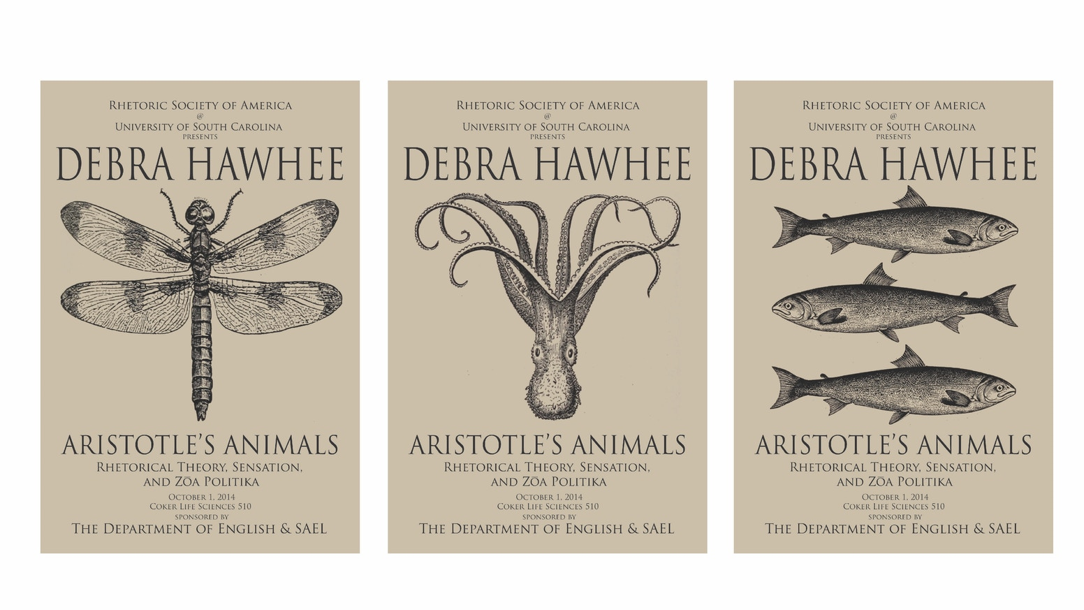 debra hawhee and aristotle s animals a rhetorical poster by brian
