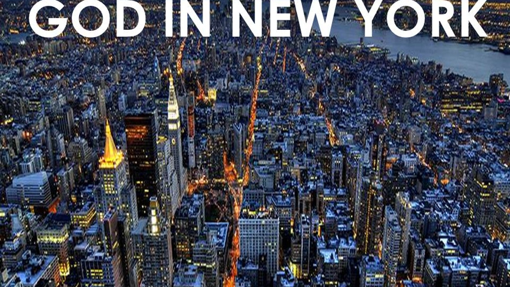 God in New York project video thumbnail