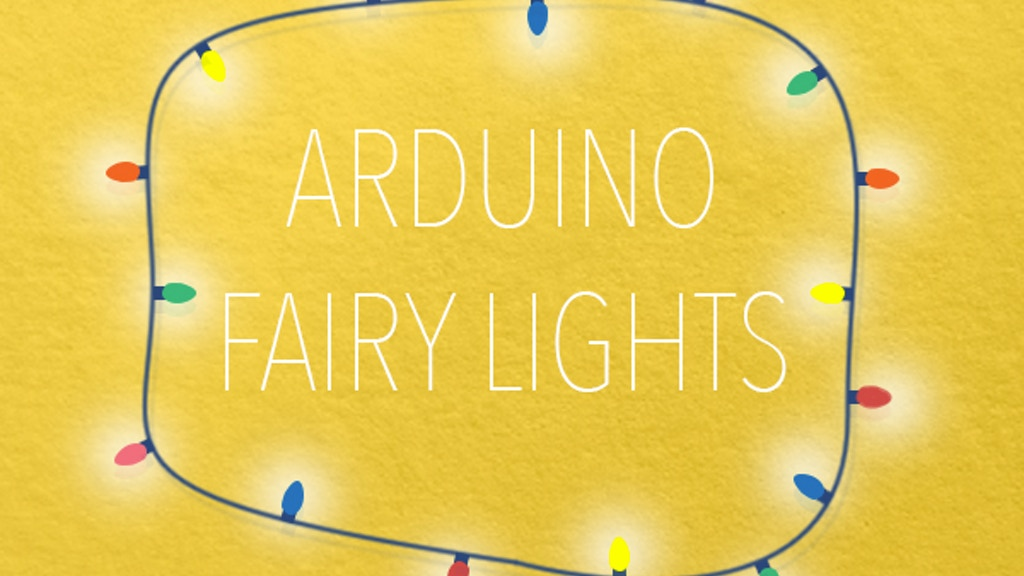 Project image for Arduino Fairy Lights