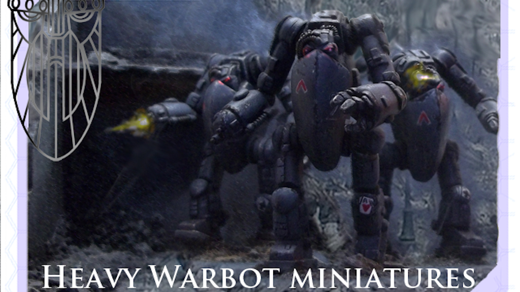 Oathsworn Miniatures - Sci-fi Wargames Robots project video thumbnail