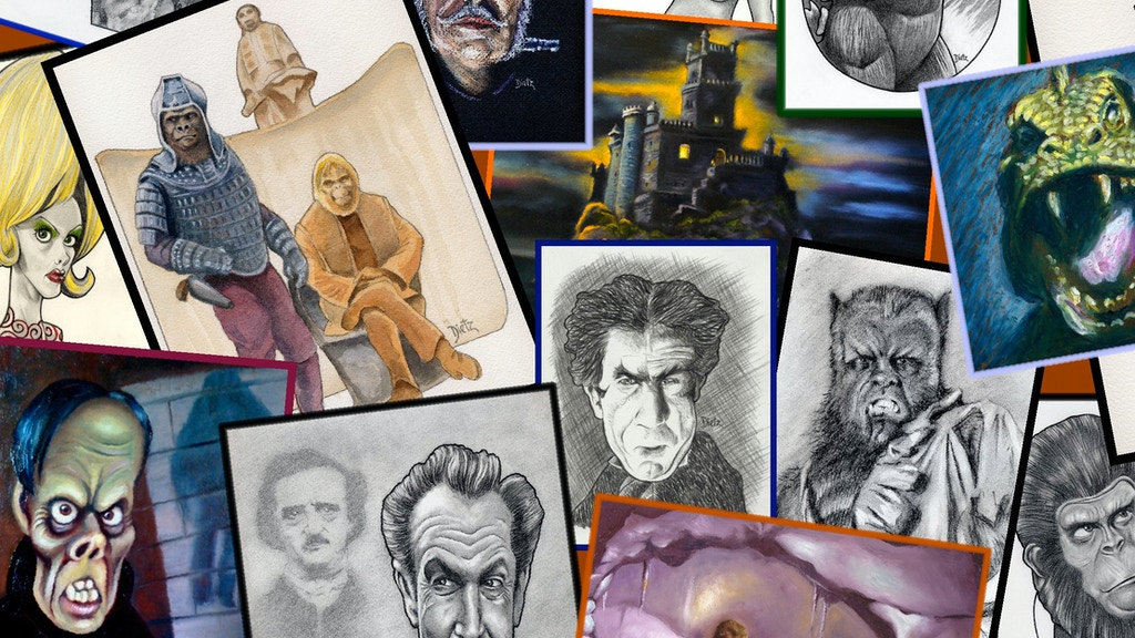 Sketchy Things: The Art of Frank Dietz project video thumbnail