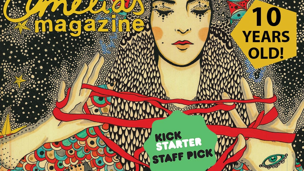 Amelia's Magazine Gold Foil Artists' Book & Gold Leaf Prints project video thumbnail