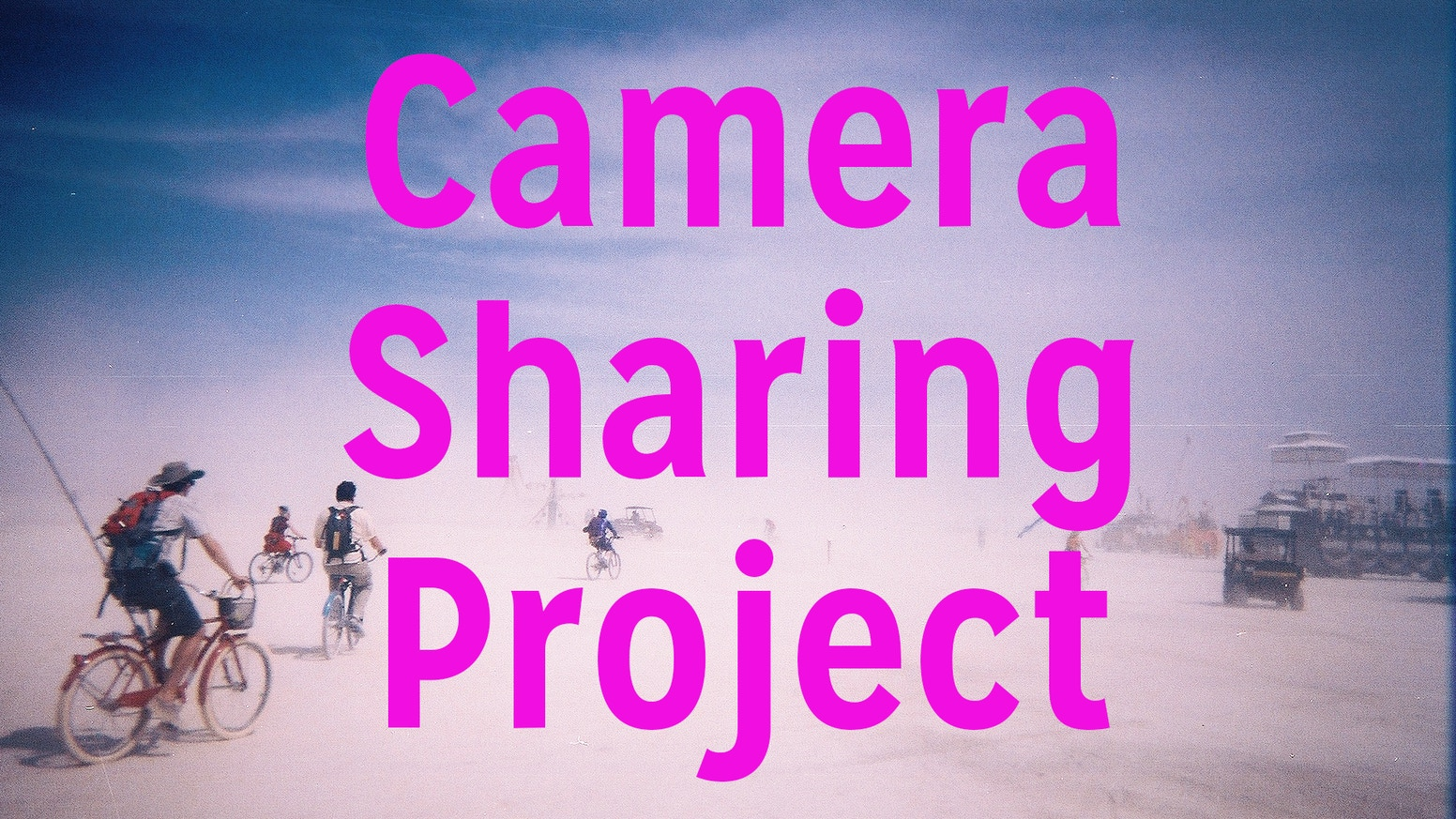 The plan is to distribute at least 500 disposable cameras around the world and share the results! Lets share photography!