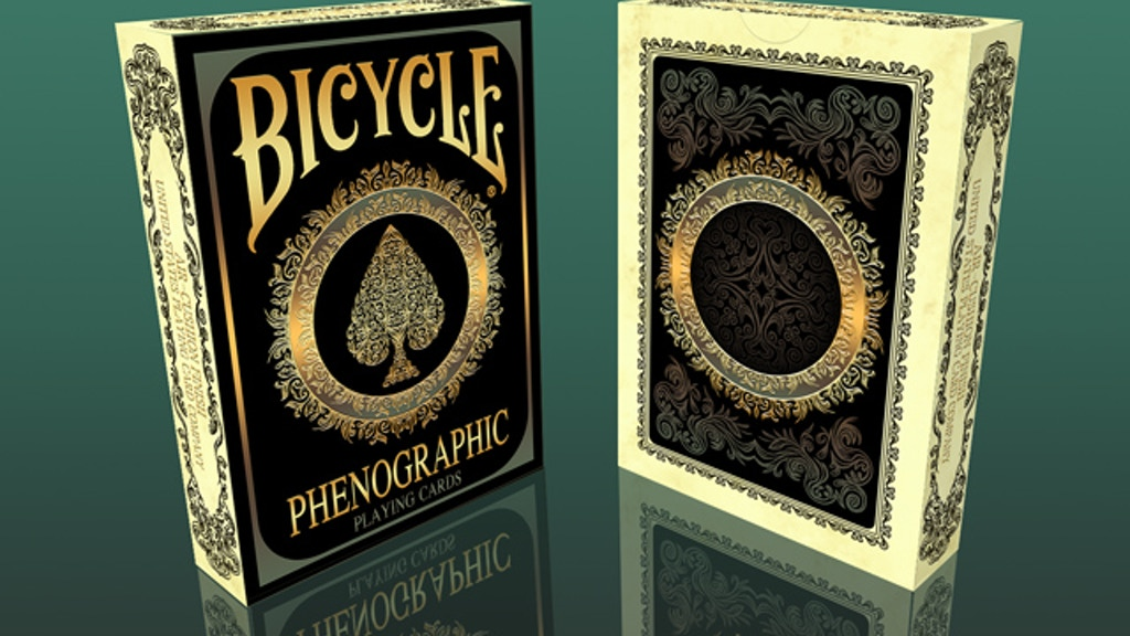 Project image for Bicycle Phenographic Playing Cards