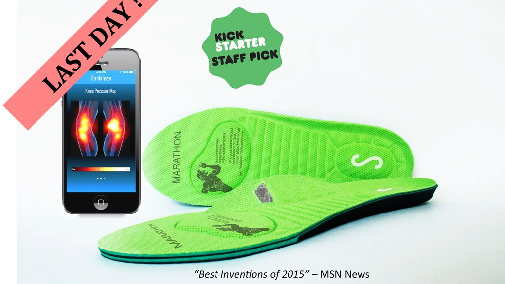 Stridalyzer Smart Insoles project video thumbnail