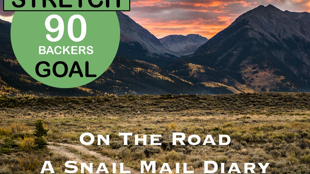 On the Road, A Snail Mail Diary project video thumbnail