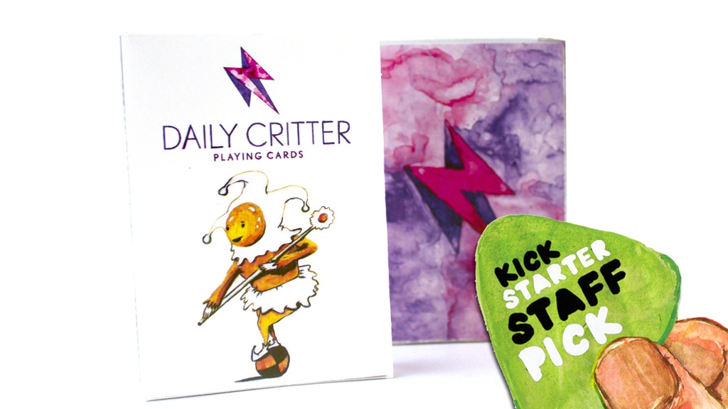 Daily Critter Playing cards project video thumbnail