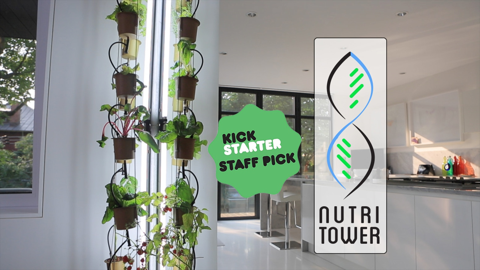 The NutriTower is a vertical hydroponic system specifically designed for indoor use. It's beautiful and fun to use! What will you grow?