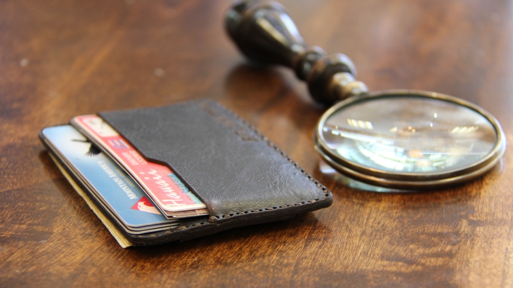 Bronxton Minimalist Leather Wallet project video thumbnail