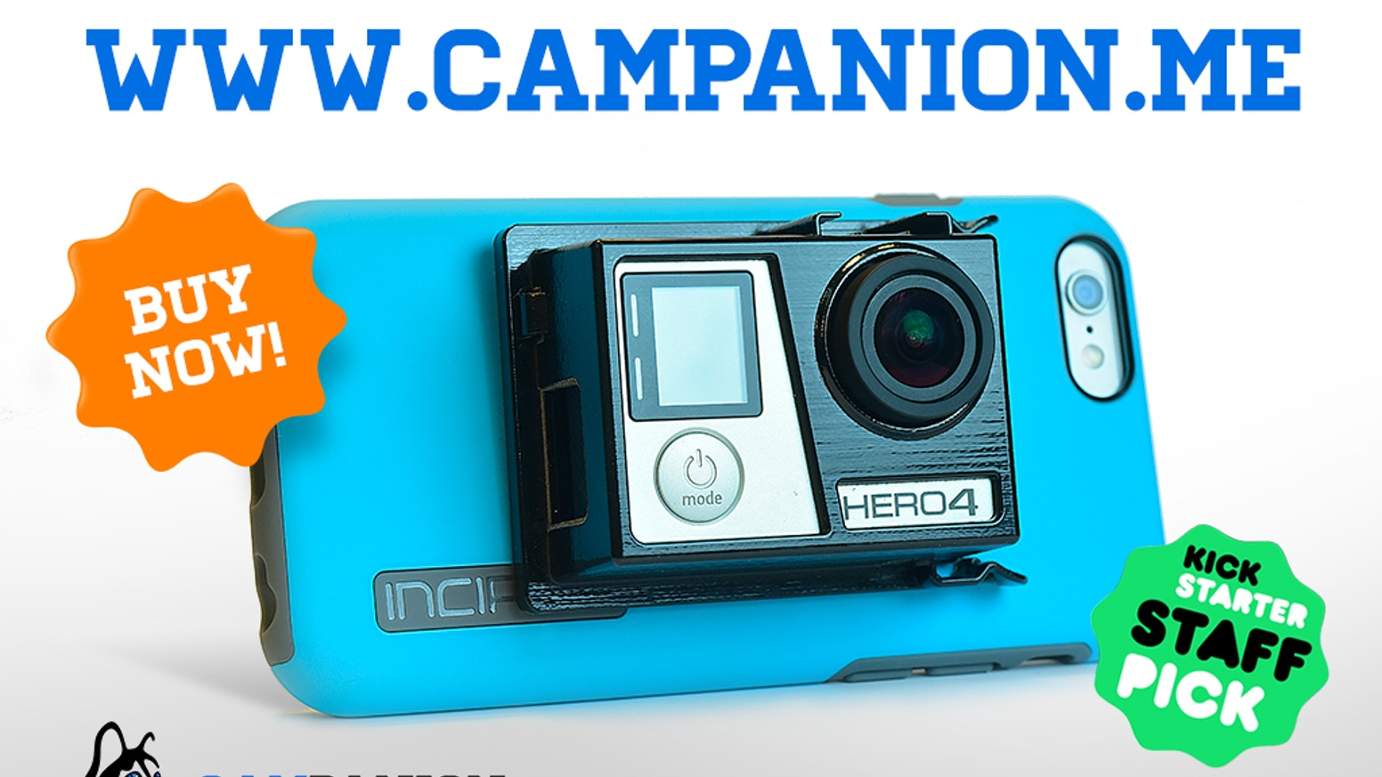 Missed our Kickstarter campaign?  Get your CAMpanion at www.campanion.me
