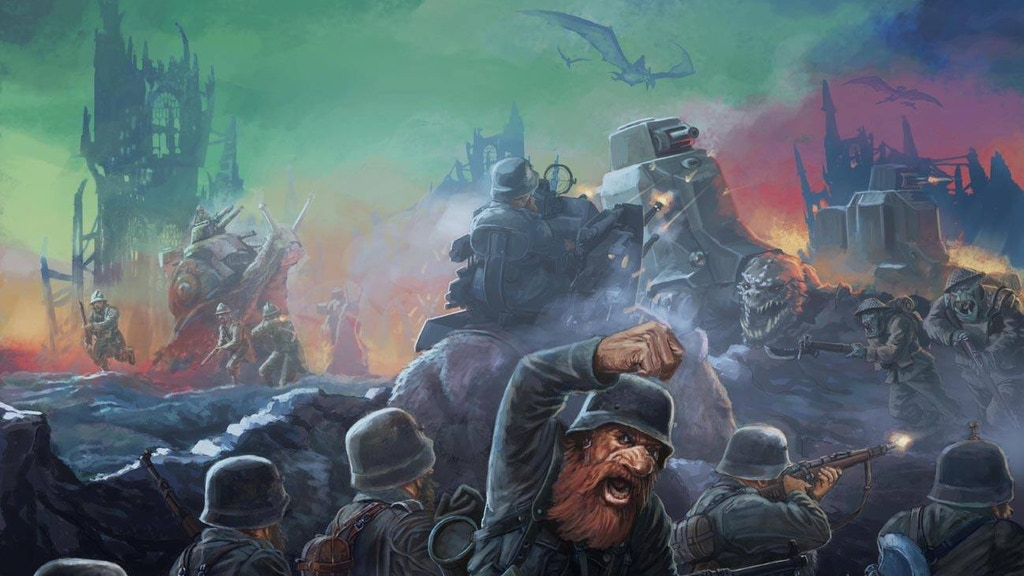 Panzerfäuste: Mechanised Warfare in a Mythical Realm project video thumbnail