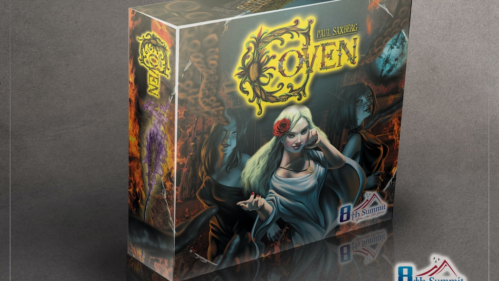 Coven Board Game by 8th Summit project video thumbnail