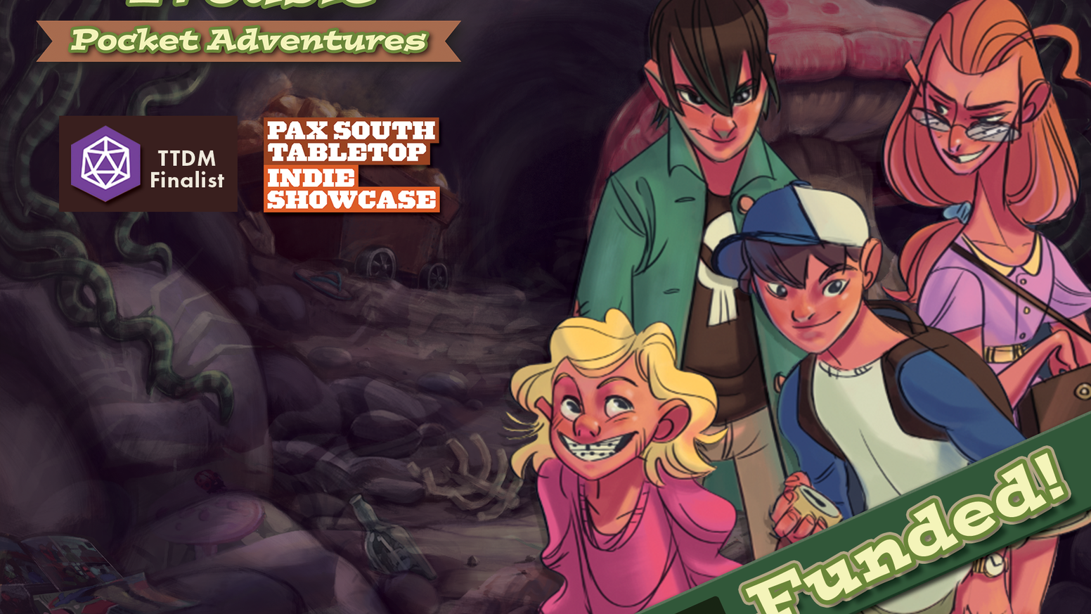 Go on an epic, 30-minute adventure in this card-driven, cooperative, storytelling game inspired by childhood imagination. 2-4 Players.
