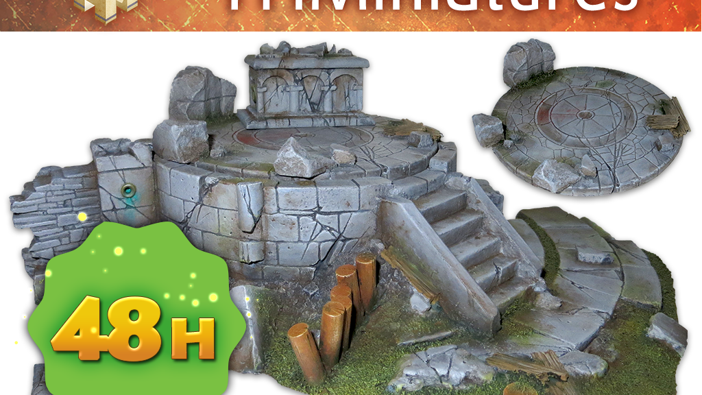 Miniature Scenery Terrain for Tabletop gaming and Wargames project video thumbnail