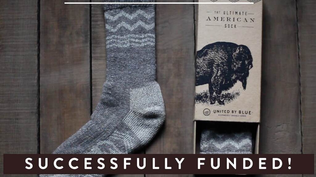 The Ultimate American Sock: Made from Bison Wool project video thumbnail