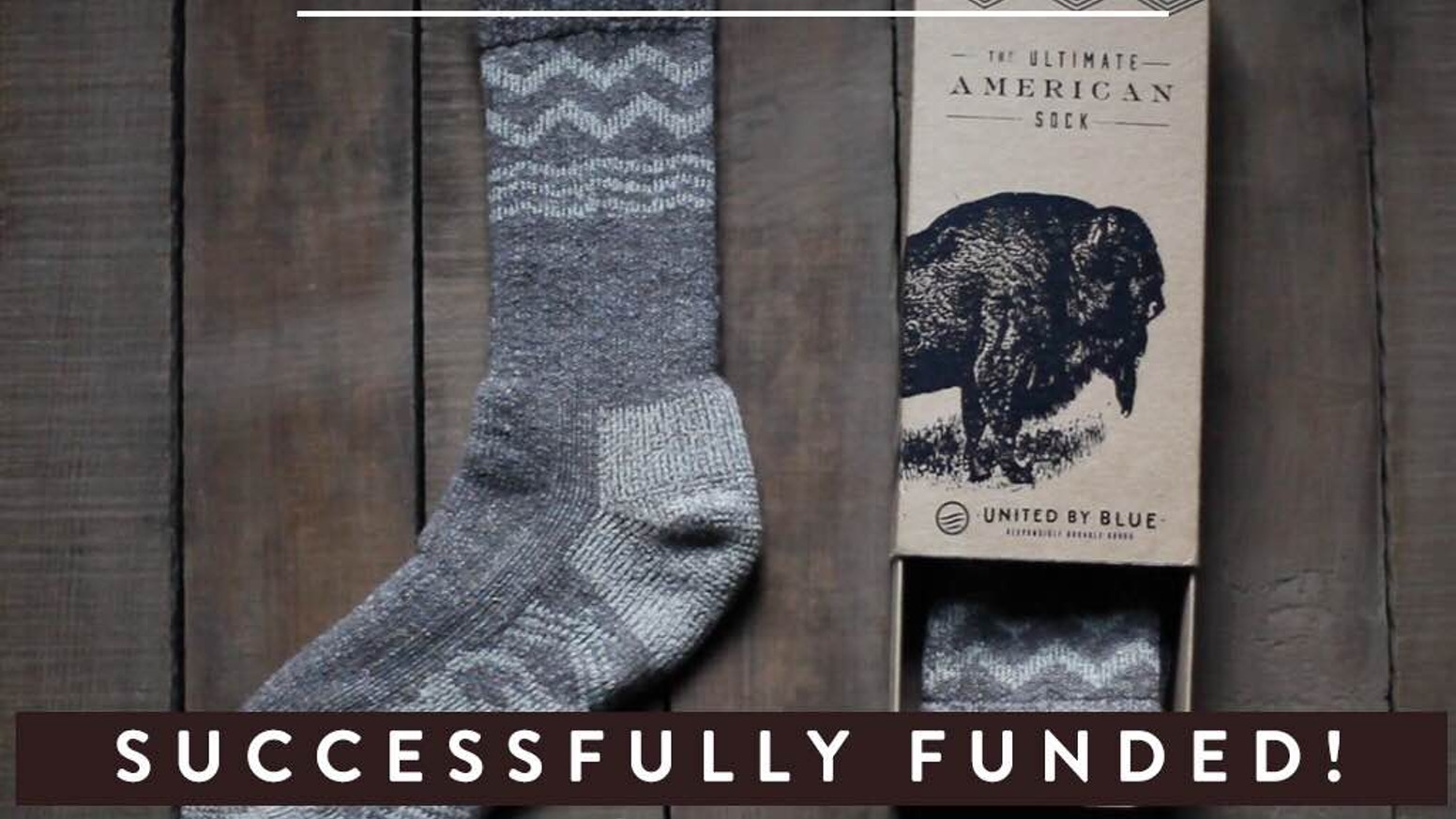 Softer than cashmere and warmer than wool, we created a sock from Bison down that will keep your feet warm and dry all winter long.