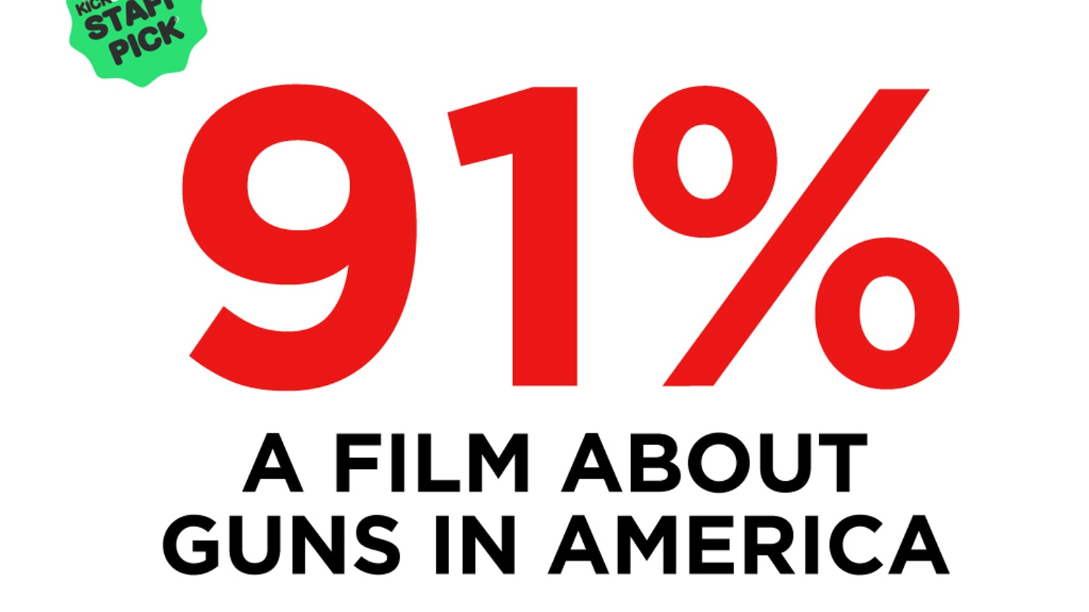 91% of Americans are for comprehensive Background Checks. Congress can't pass solid laws. Every year, we have over 130,000 victims.Learn more about 91% at 91percentfilm.com