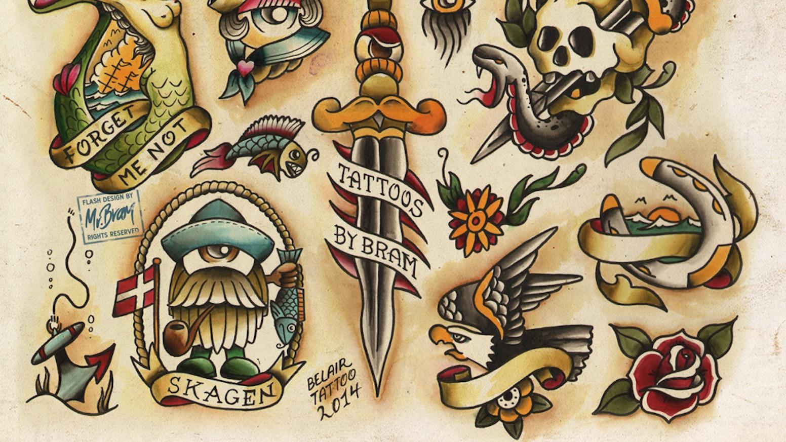 Jesper Bram Tattoo Flash And Lowbrow Art Prints by Jesper Bram » FAQ ...