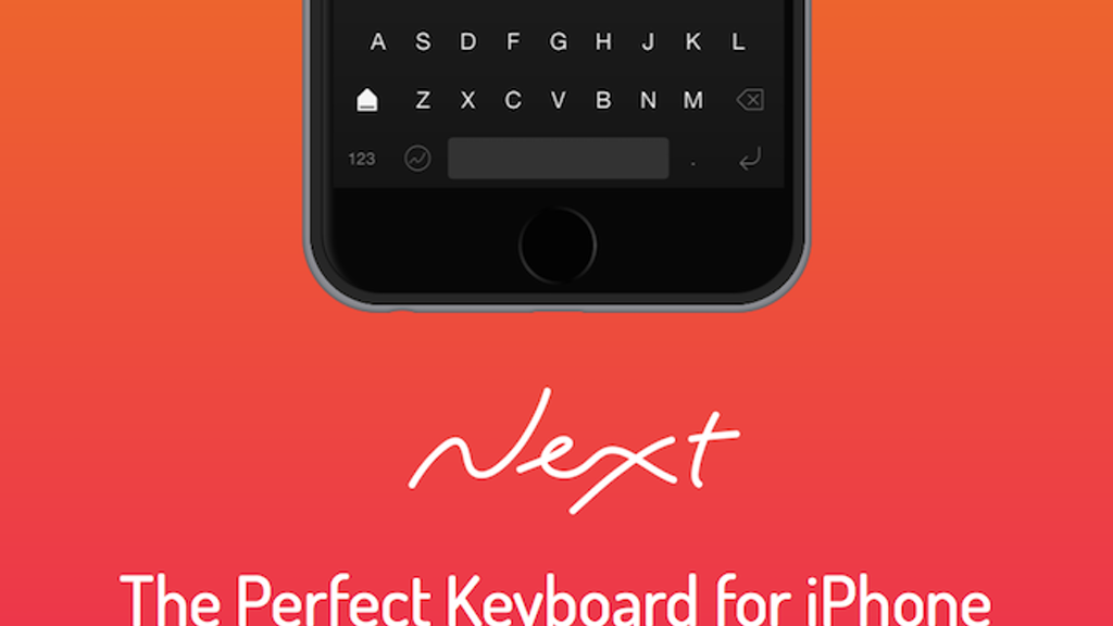 Next Keyboard - The Perfect Keyboard for iPhone project video thumbnail