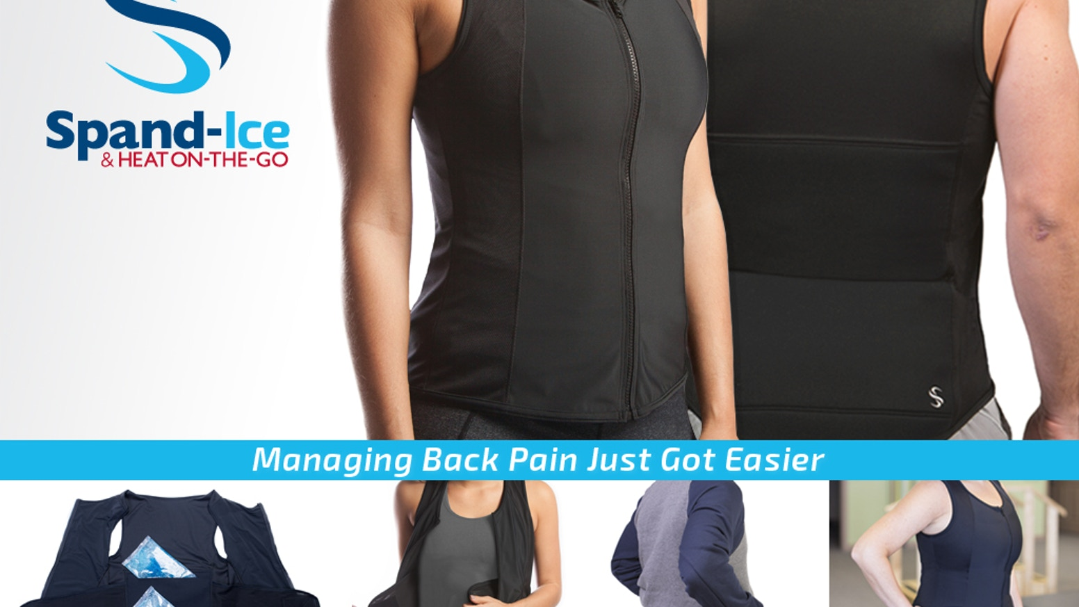 The Revive Tank helps you relieve back inflammation & muscle pain through thermal therapy while staying mobile & active.