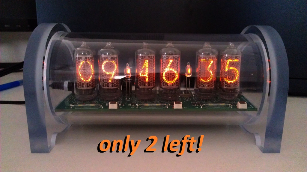 Extremely Accurate Dimmable Nixie Clock with Alarm project video thumbnail