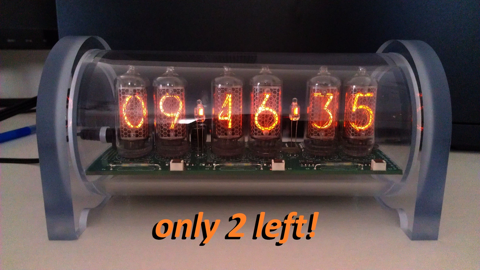 Extremely Accurate Dimmable Nixie Clock with Alarm by Jerzy