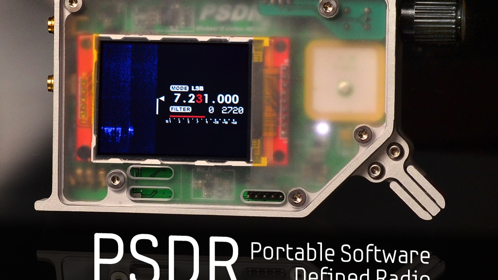 PSDR - Pocket HF SDR Transceiver with VNA and GPS project video thumbnail