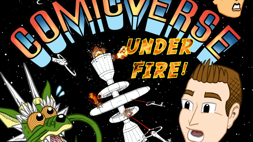 Comicverse: Under Fire! project video thumbnail