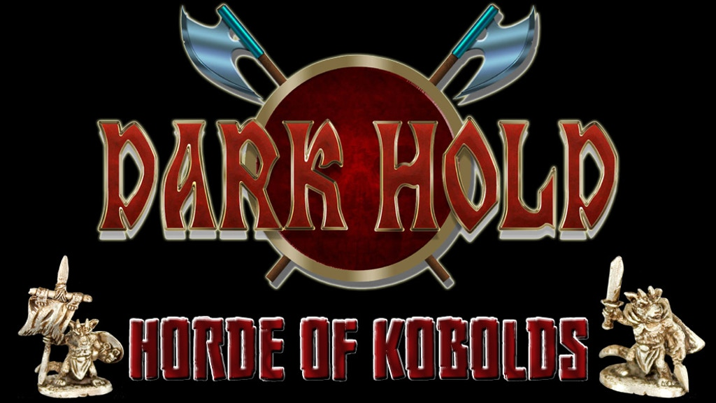 Dark Hold Kobold 28mm Scale Miniatures Horde for RPGs project video thumbnail
