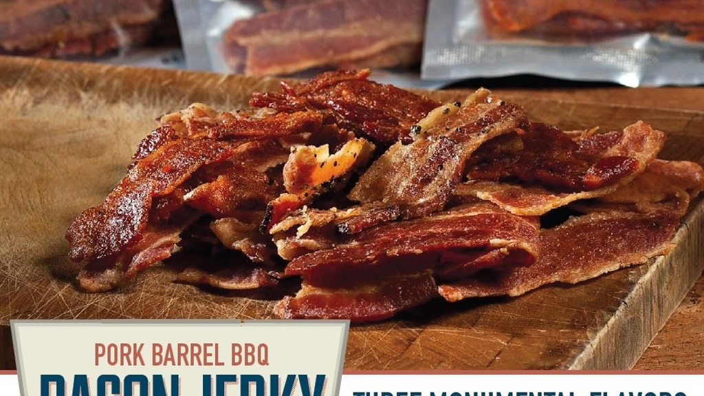BACON JERKY by PORK BARREL BBQ!! project video thumbnail