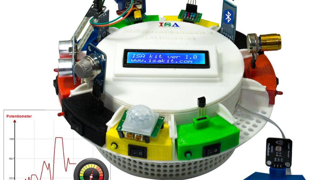 ISA: Intelligent Sensor and Actuator Kit project video thumbnail