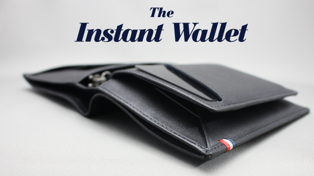 The Instant Wallet : the unique 3 in 1 modular Wallet project video thumbnail