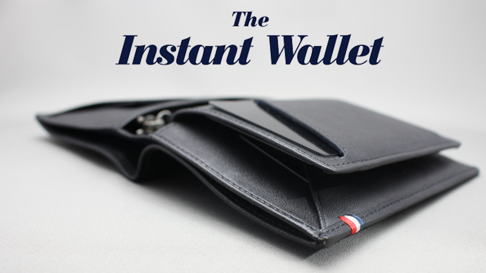 The Instant Wallet is a unique and innovative concept: a modular, elegant leather Wallet that is truly adapted to your lifestyle.