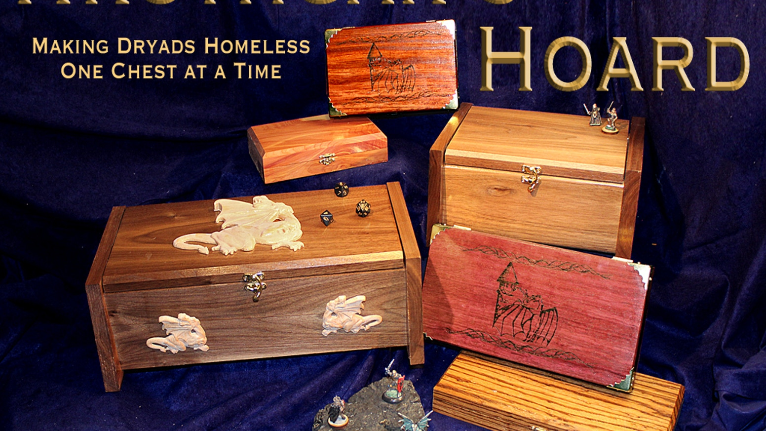 Hrothgar's Hoard continues its line of high quality wood products to use with your favorite games!