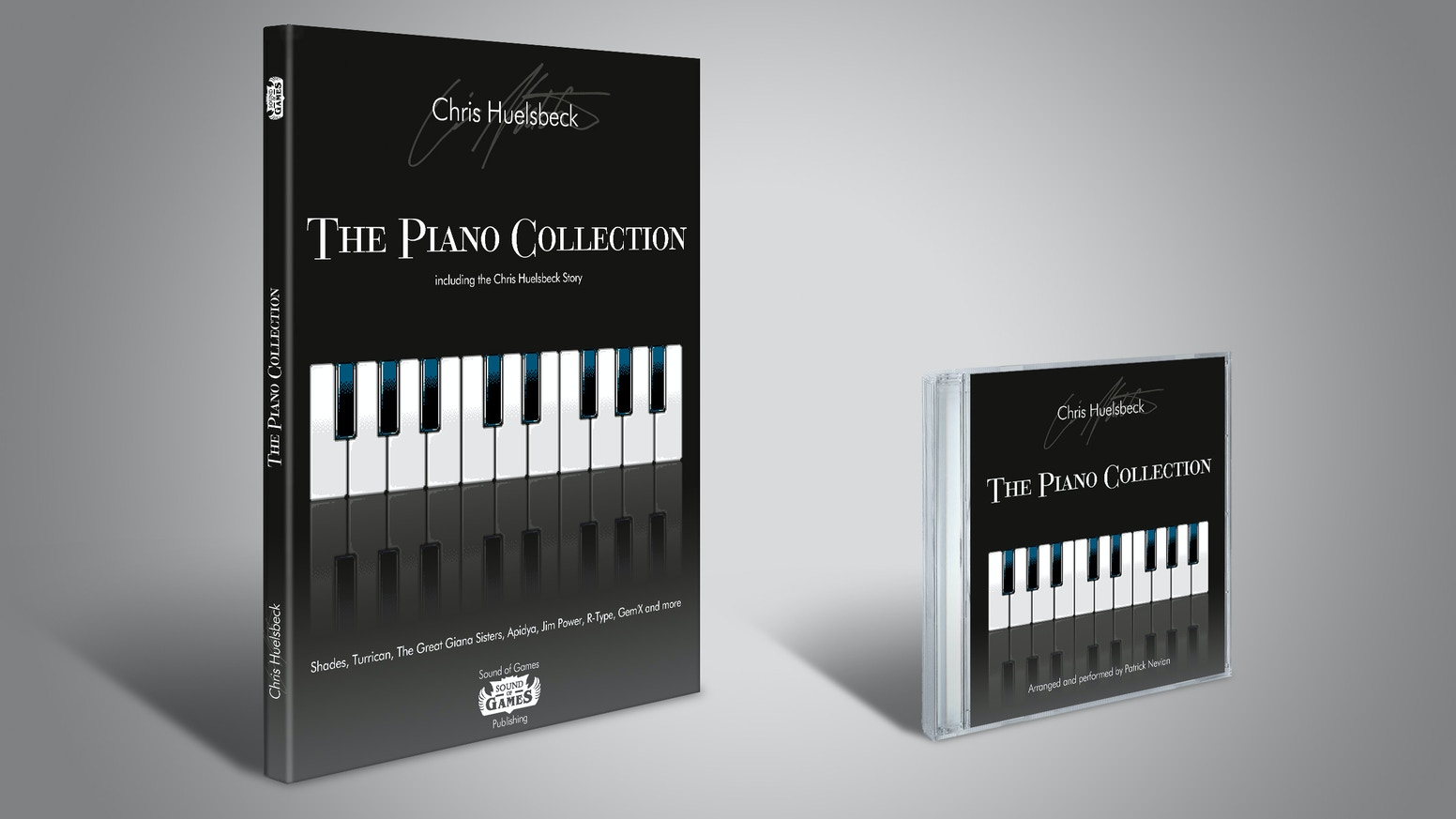 "Introducing ""The Piano Collection"" Album and Limited Edition Biographical Score Book of Chris Huelsbeck's Greatest Hits!"