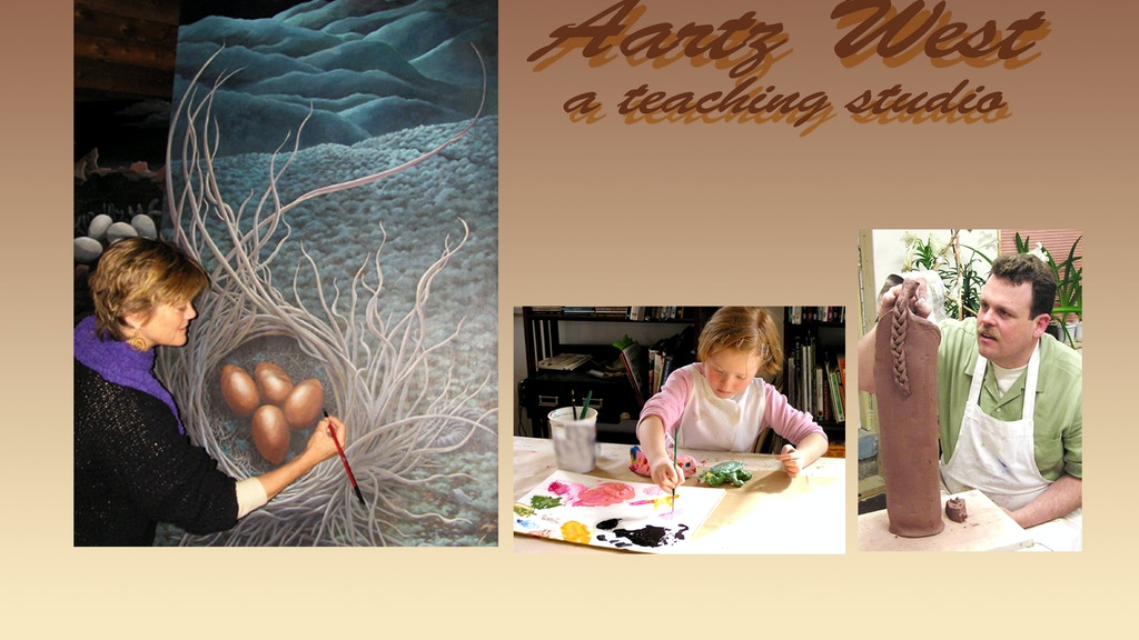 Help open Aartz West- a teaching art studio in Santa Fe, NM! project video thumbnail