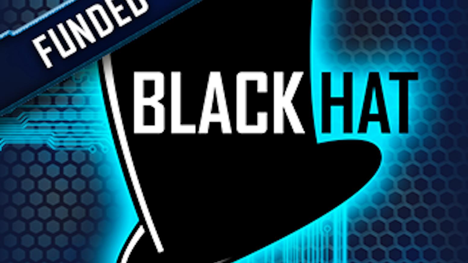 Black Hat - hacker-themed board game - choose tricks to win