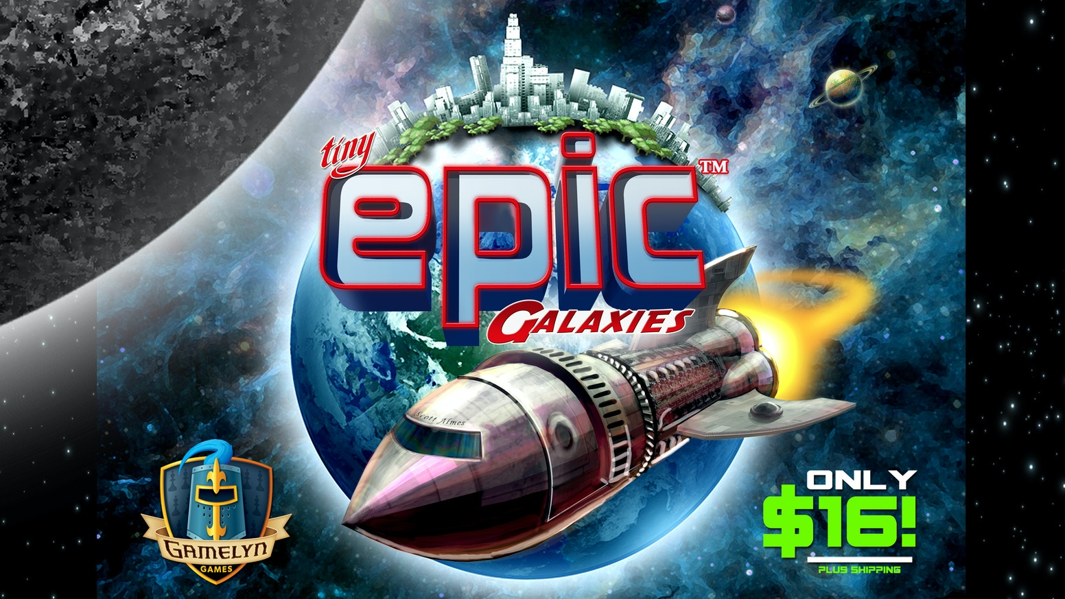 30min MICROGAME of Intergalactic Conquest for 1-5 Players! Develop your empire and colonize planets to create the most powerful galaxy!